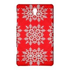Background For Scrapbooking Or Other Stylized Snowflakes Samsung Galaxy Tab S (8 4 ) Hardshell Case