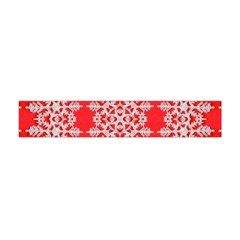 Background For Scrapbooking Or Other Stylized Snowflakes Flano Scarf (mini)
