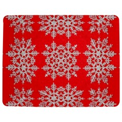 Background For Scrapbooking Or Other Stylized Snowflakes Jigsaw Puzzle Photo Stand (Rectangular)