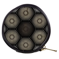 Sunflower Black White Mini Makeup Bags