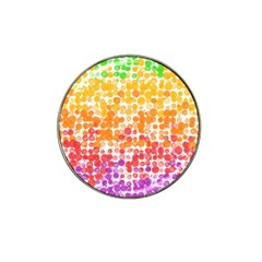 Spots Paint Color Green Yellow Pink Purple Hat Clip Ball Marker