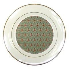 Vintage Floral Tumblr Quotes Porcelain Plates