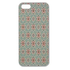 Vintage Floral Tumblr Quotes Apple Seamless Iphone 5 Case (clear)