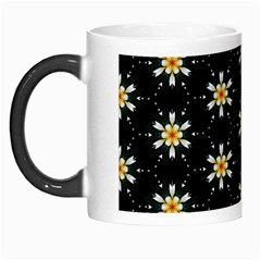 Background For Scrapbooking Or Other With Flower Patterns Morph Mugs