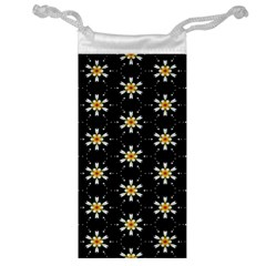 Background For Scrapbooking Or Other With Flower Patterns Jewelry Bag