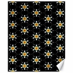 Background For Scrapbooking Or Other With Flower Patterns Canvas 11  x 14