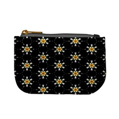 Background For Scrapbooking Or Other With Flower Patterns Mini Coin Purses