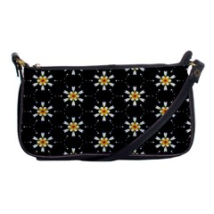 Background For Scrapbooking Or Other With Flower Patterns Shoulder Clutch Bags
