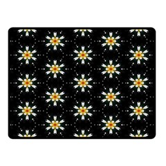 Background For Scrapbooking Or Other With Flower Patterns Fleece Blanket (Small)