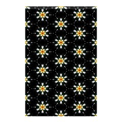 Background For Scrapbooking Or Other With Flower Patterns Shower Curtain 48  x 72  (Small)