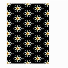 Background For Scrapbooking Or Other With Flower Patterns Large Garden Flag (two Sides)