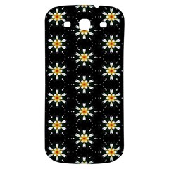 Background For Scrapbooking Or Other With Flower Patterns Samsung Galaxy S3 S Iii Classic Hardshell Back Case