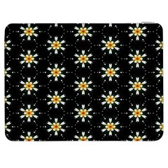 Background For Scrapbooking Or Other With Flower Patterns Samsung Galaxy Tab 7  P1000 Flip Case