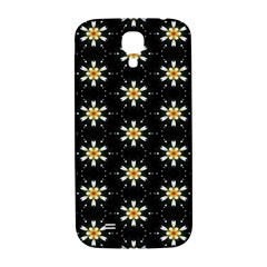 Background For Scrapbooking Or Other With Flower Patterns Samsung Galaxy S4 I9500/I9505  Hardshell Back Case