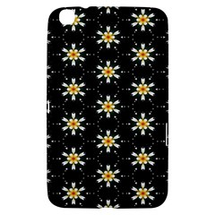 Background For Scrapbooking Or Other With Flower Patterns Samsung Galaxy Tab 3 (8 ) T3100 Hardshell Case