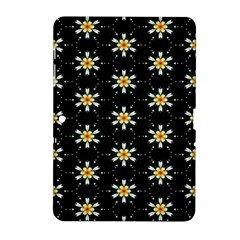 Background For Scrapbooking Or Other With Flower Patterns Samsung Galaxy Tab 2 (10 1 ) P5100 Hardshell Case