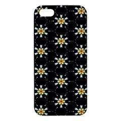Background For Scrapbooking Or Other With Flower Patterns iPhone 5S/ SE Premium Hardshell Case