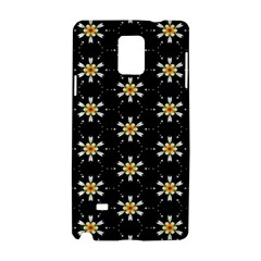Background For Scrapbooking Or Other With Flower Patterns Samsung Galaxy Note 4 Hardshell Case