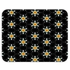 Background For Scrapbooking Or Other With Flower Patterns Double Sided Flano Blanket (medium)
