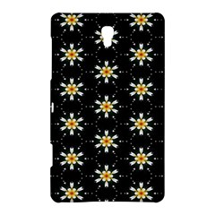 Background For Scrapbooking Or Other With Flower Patterns Samsung Galaxy Tab S (8 4 ) Hardshell Case