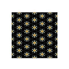 Background For Scrapbooking Or Other With Flower Patterns Satin Bandana Scarf