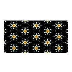 Background For Scrapbooking Or Other With Flower Patterns Satin Wrap