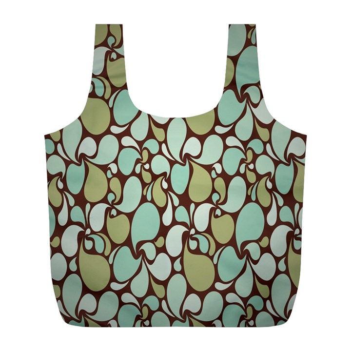 Leaf Camo Color Flower Floral Full Print Recycle Bags (L)
