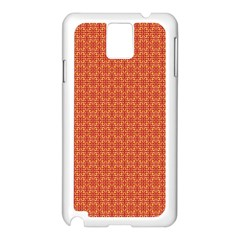 Hot Snowflakes Samsung Galaxy Note 3 N9005 Case (white)