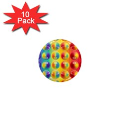 Background For Scrapbooking Or Other 1  Mini Magnet (10 pack)