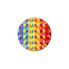 Background For Scrapbooking Or Other Golf Ball Marker (4 pack)