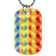 Background For Scrapbooking Or Other Dog Tag (two Sides)