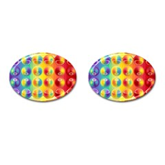 Background For Scrapbooking Or Other Cufflinks (Oval)
