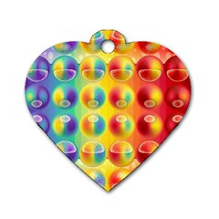 Background For Scrapbooking Or Other Dog Tag Heart (One Side)