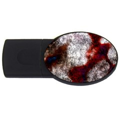 Background For Scrapbooking Or Other USB Flash Drive Oval (2 GB)