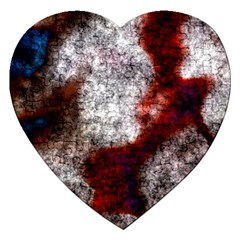 Background For Scrapbooking Or Other Jigsaw Puzzle (Heart)