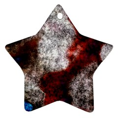 Background For Scrapbooking Or Other Star Ornament (Two Sides)