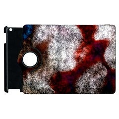 Background For Scrapbooking Or Other Apple Ipad 3/4 Flip 360 Case