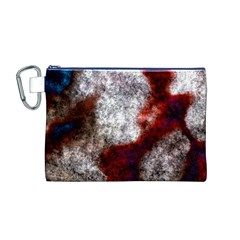 Background For Scrapbooking Or Other Canvas Cosmetic Bag (M)