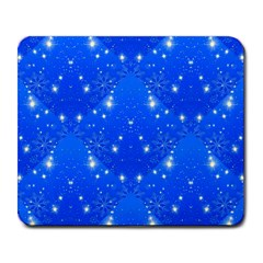Background For Scrapbooking Or Other With Snowflakes Patterns Large Mousepads