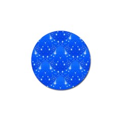 Background For Scrapbooking Or Other With Snowflakes Patterns Golf Ball Marker (10 pack)