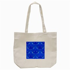 Background For Scrapbooking Or Other With Snowflakes Patterns Tote Bag (Cream)