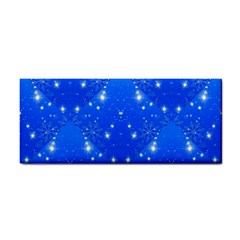 Background For Scrapbooking Or Other With Snowflakes Patterns Cosmetic Storage Cases