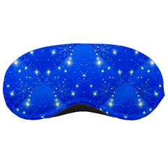 Background For Scrapbooking Or Other With Snowflakes Patterns Sleeping Masks
