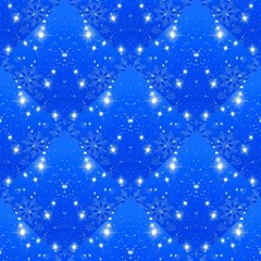Background For Scrapbooking Or Other With Snowflakes Patterns Magic Photo Cubes
