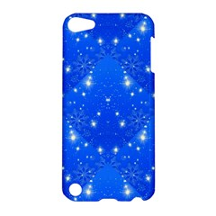Background For Scrapbooking Or Other With Snowflakes Patterns Apple iPod Touch 5 Hardshell Case