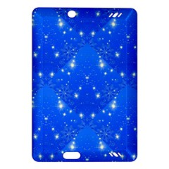 Background For Scrapbooking Or Other With Snowflakes Patterns Amazon Kindle Fire Hd (2013) Hardshell Case