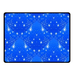 Background For Scrapbooking Or Other With Snowflakes Patterns Double Sided Fleece Blanket (small)