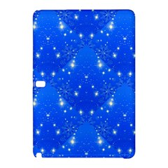 Background For Scrapbooking Or Other With Snowflakes Patterns Samsung Galaxy Tab Pro 10.1 Hardshell Case