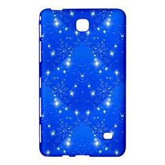 Background For Scrapbooking Or Other With Snowflakes Patterns Samsung Galaxy Tab 4 (8 ) Hardshell Case