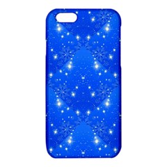 Background For Scrapbooking Or Other With Snowflakes Patterns iPhone 6/6S TPU Case